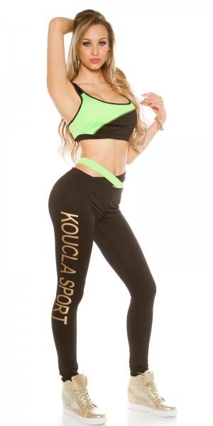 "Trendy KouCla 2 Tlg. Workout Outfit ""KOUCLA SPORT"""