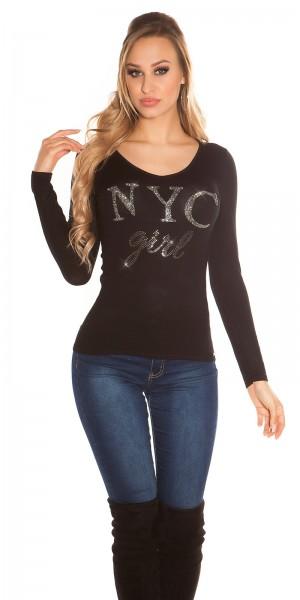 "Trendy Koucla Pullover ""NYC Girl"""