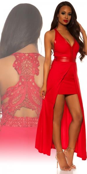 Sexy KouCla 2in1 Kleid mit Stickerei am Rücken