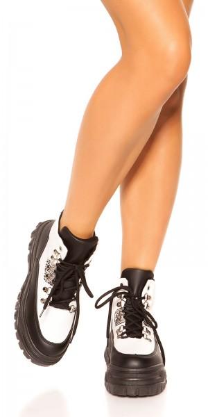 Trendy Plateau Sneakers