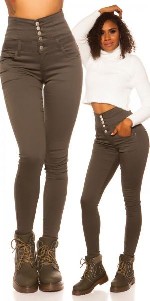 Sexy 5 pocket Highwaist Skinny Jeans