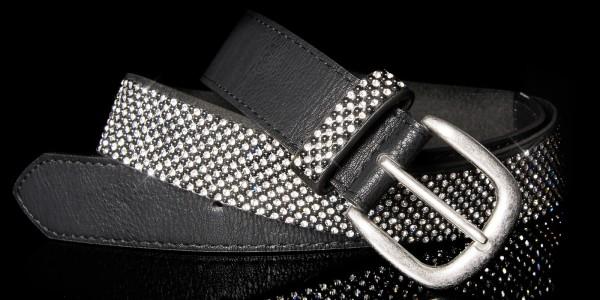 Sexy Hüftgürtel mit Strass und Perlen