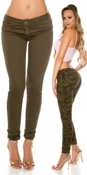 Sexy KouCla 2Way Jeans:Army? Denim? It s up 2U!