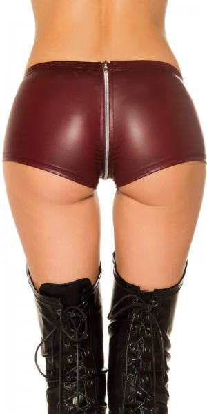 Sexy KouCla Gogo Lederlook Hot Pants