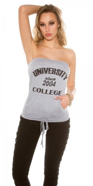 """Sexy KouCla Sweat Bandeautop """"University"""""""