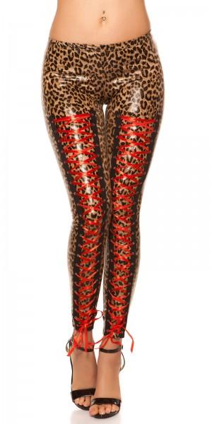 Sexy KouCla Leggings mit Schnürung vorne